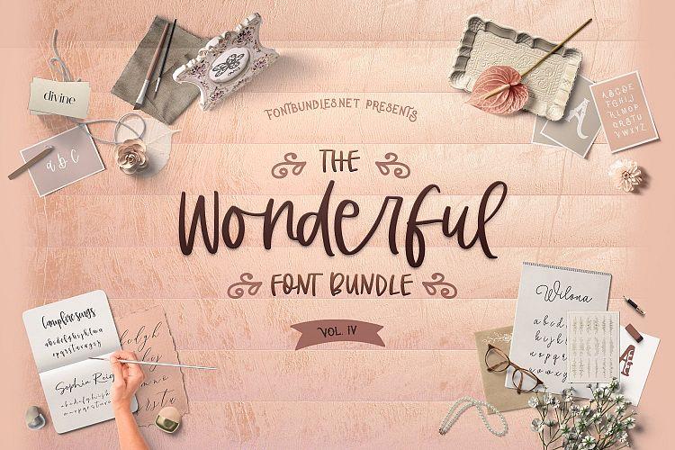 The Wonderful Font Bundle IV