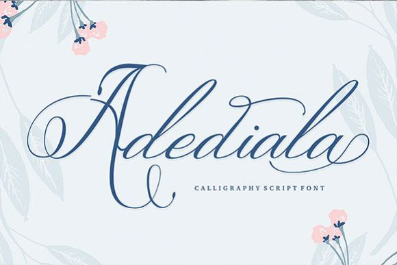 Adediala - Free Font of The Week Font