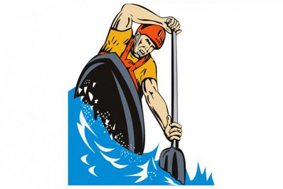 Kayak Paddler example image 1
