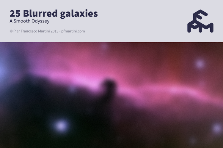 25 Blurred galaxies example image 1