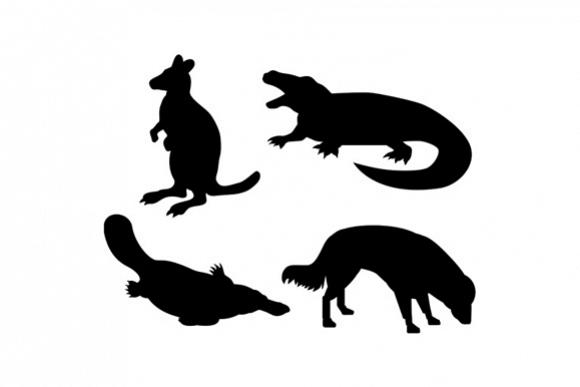 Wildlife Silhouettes example image 1