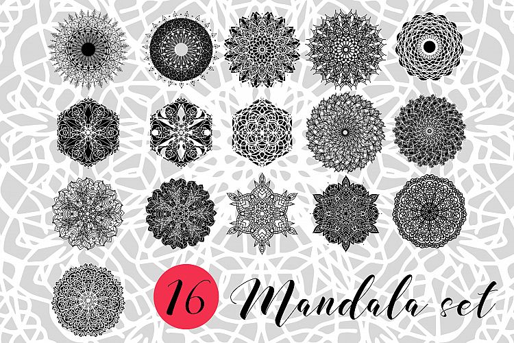 Mandalas set 1. example image 1