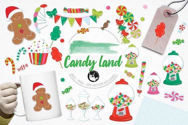 Candy Land graphics and illustrations example image 1