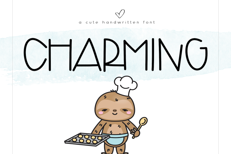 Charming - A Cute Handwritten Font example image 1