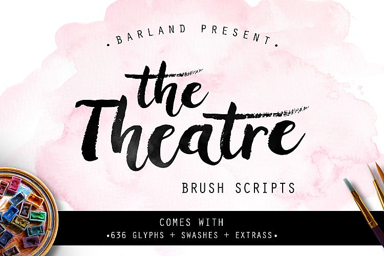 The Theatre Brush | Special Price! example image 1