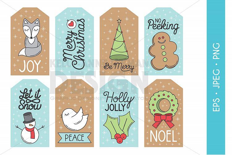 printable christmas gift tags  christmas labels  holiday