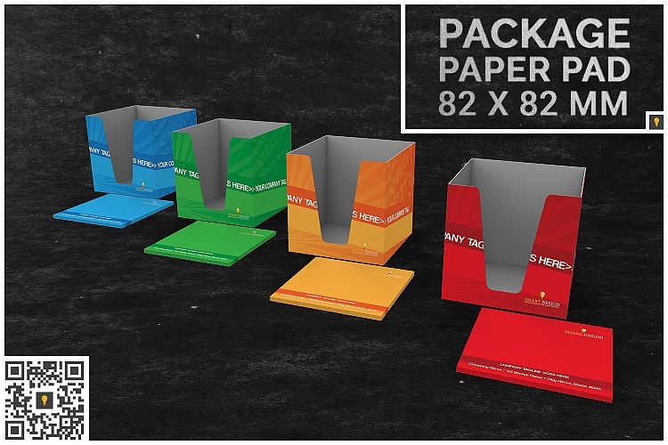 Paper Pad & Paper Notes Package example image 1
