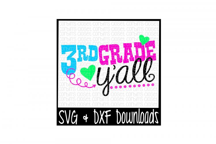 3rd Grade Y All Cut File 13660 Svgs Design Bundles