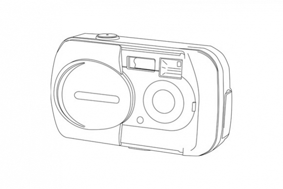 Camera Line Drawing example image 1