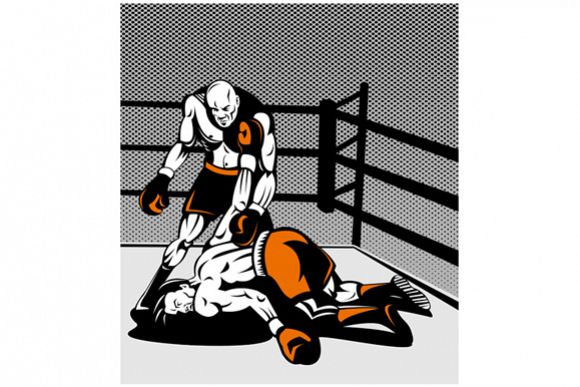 Boxer Connecting Knockout Punch example image 1