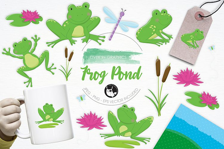 Frog Pond graphics and illustrations example image 1