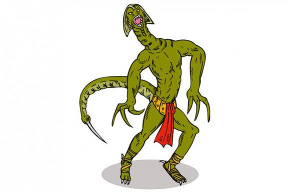 Monster Alien Tailfront example image 1