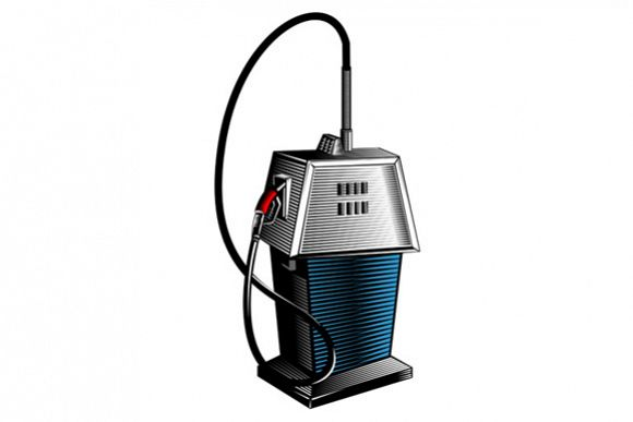 Fuel Pump Station Retro example image 1