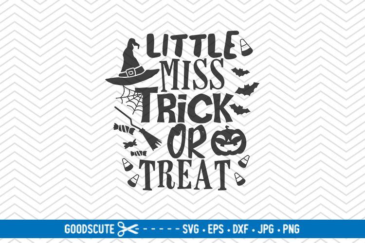 Little Miss Trick Or Treat Svg Dxf Jpg Png Eps 132186 Svgs Design Bundles
