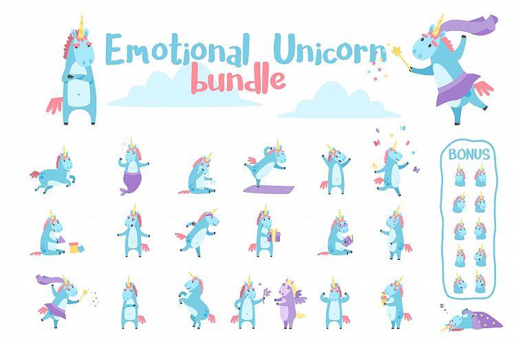 Emotional Unicorn Set