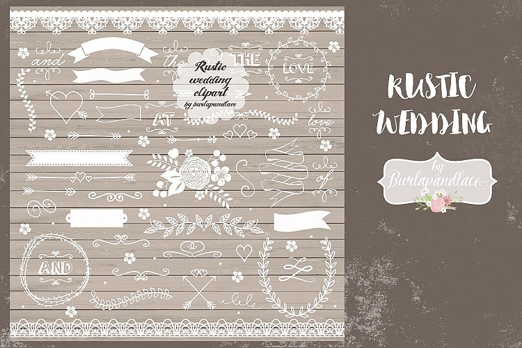 Rustic wedding elements example image 1
