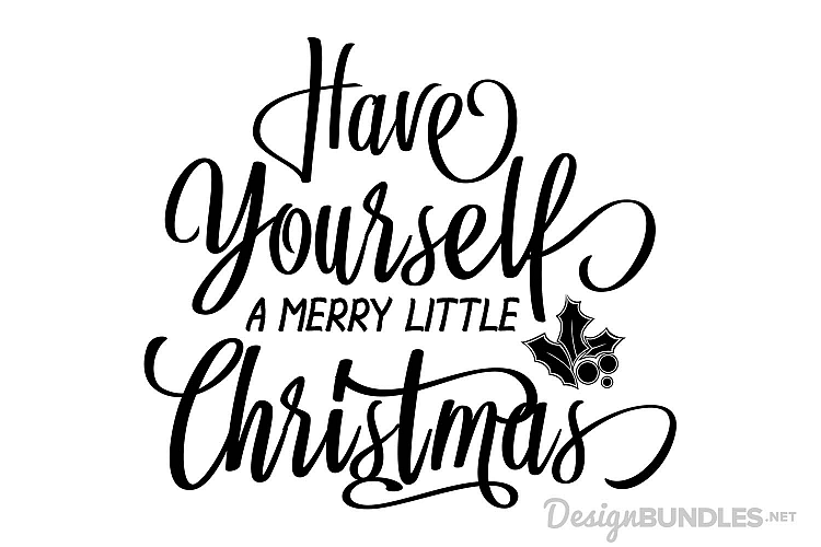 viewing product have yourself a merry little christmas - Merry Little Christmas