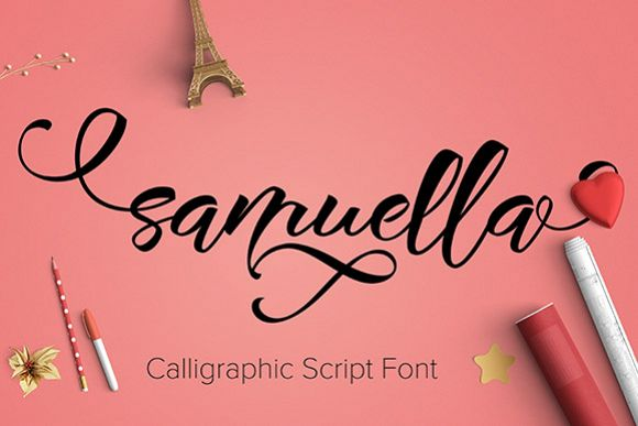 Samuella - Free Font of The Week Font