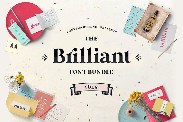 The Brilliant Font Bundle Volume 8