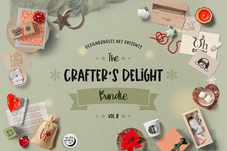 The Crafters Delight Bundle Volume 8