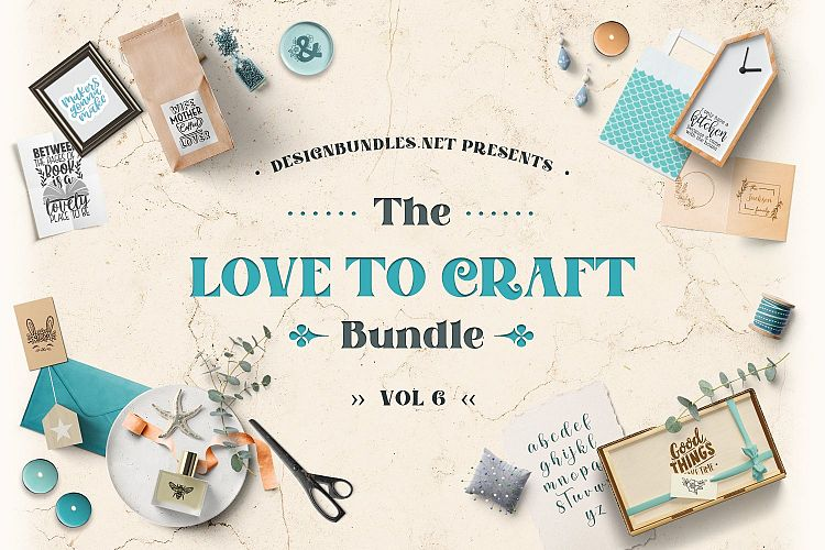 Love to Craft Bundle Volume 6