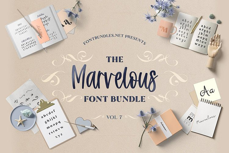 The Marvelous Font Bundle 7