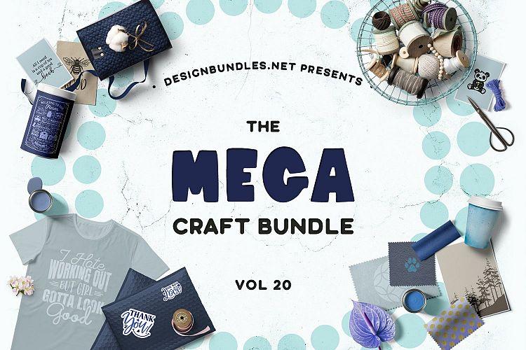 The Mega Craft Bundle Volume 20