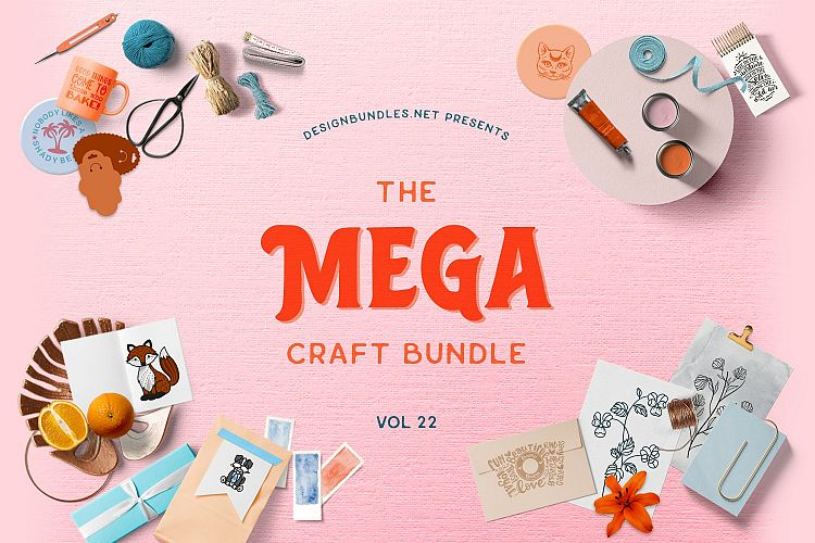 The Mega Craft Bundle Volume 22