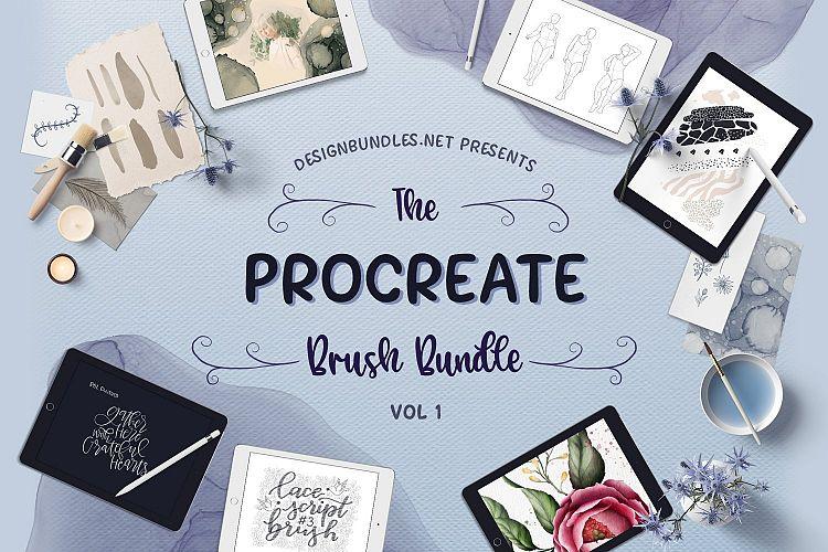 The Procreate Brush Bundle 1