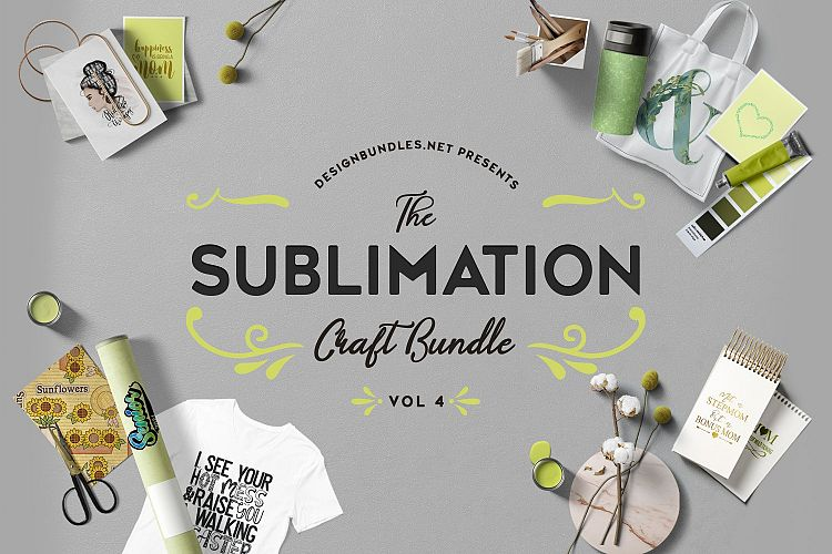 The Sublimation Craft Bundle Volume 4