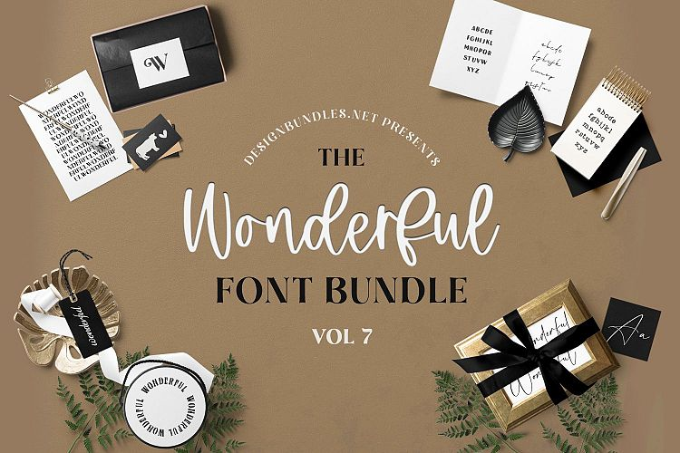 The Wonderful Font Bundle 7