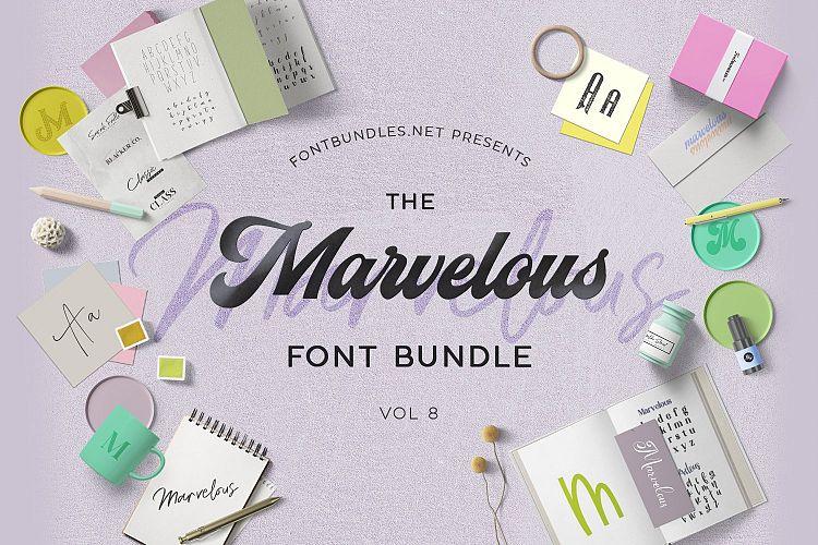 The Marvelous Font Bundle 8