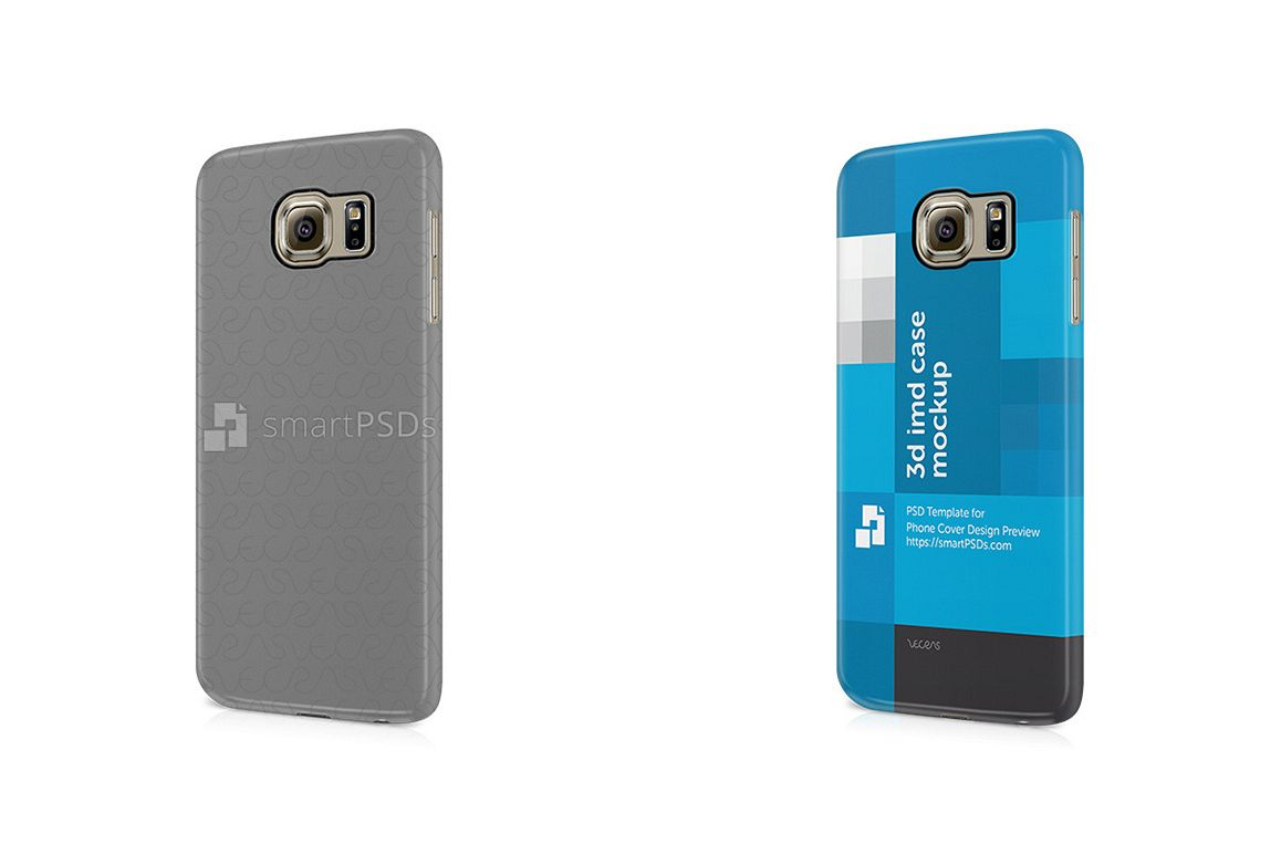 Samsung Galaxy S6 3d IMD Mobile Case Design Mockup 2015 example image 1