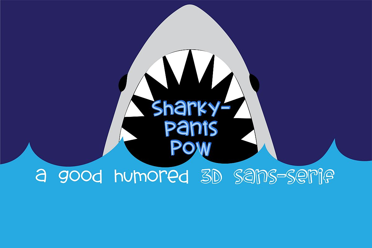 PN Sharkypants Pow example image 1