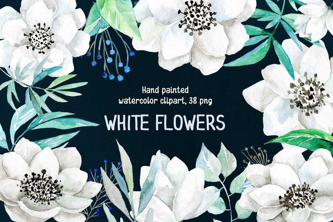 Watercolor white flowers 38 png watercolor white flowers 38 png example image 1 mightylinksfo