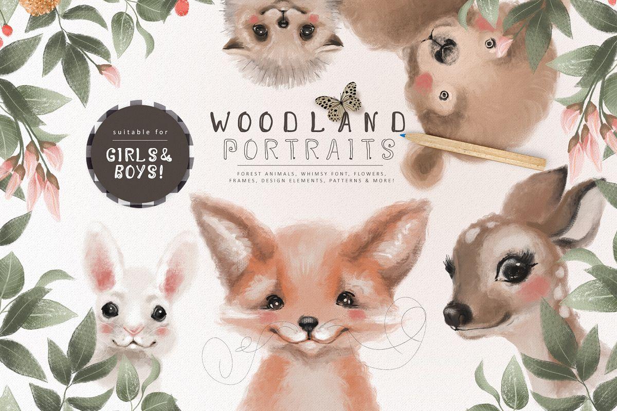 Woodland Portraits example image 1