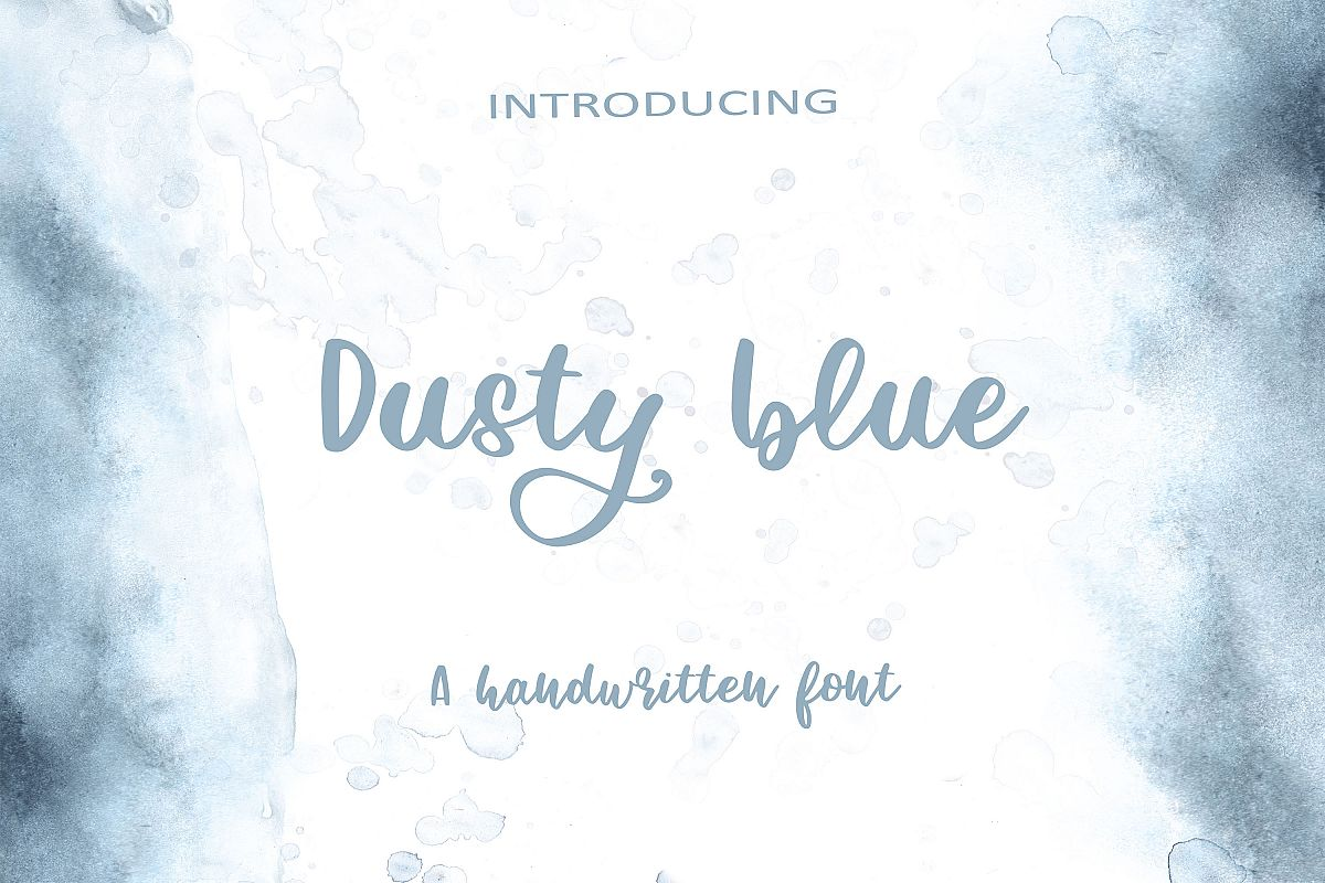 Dusty Blue example image 1