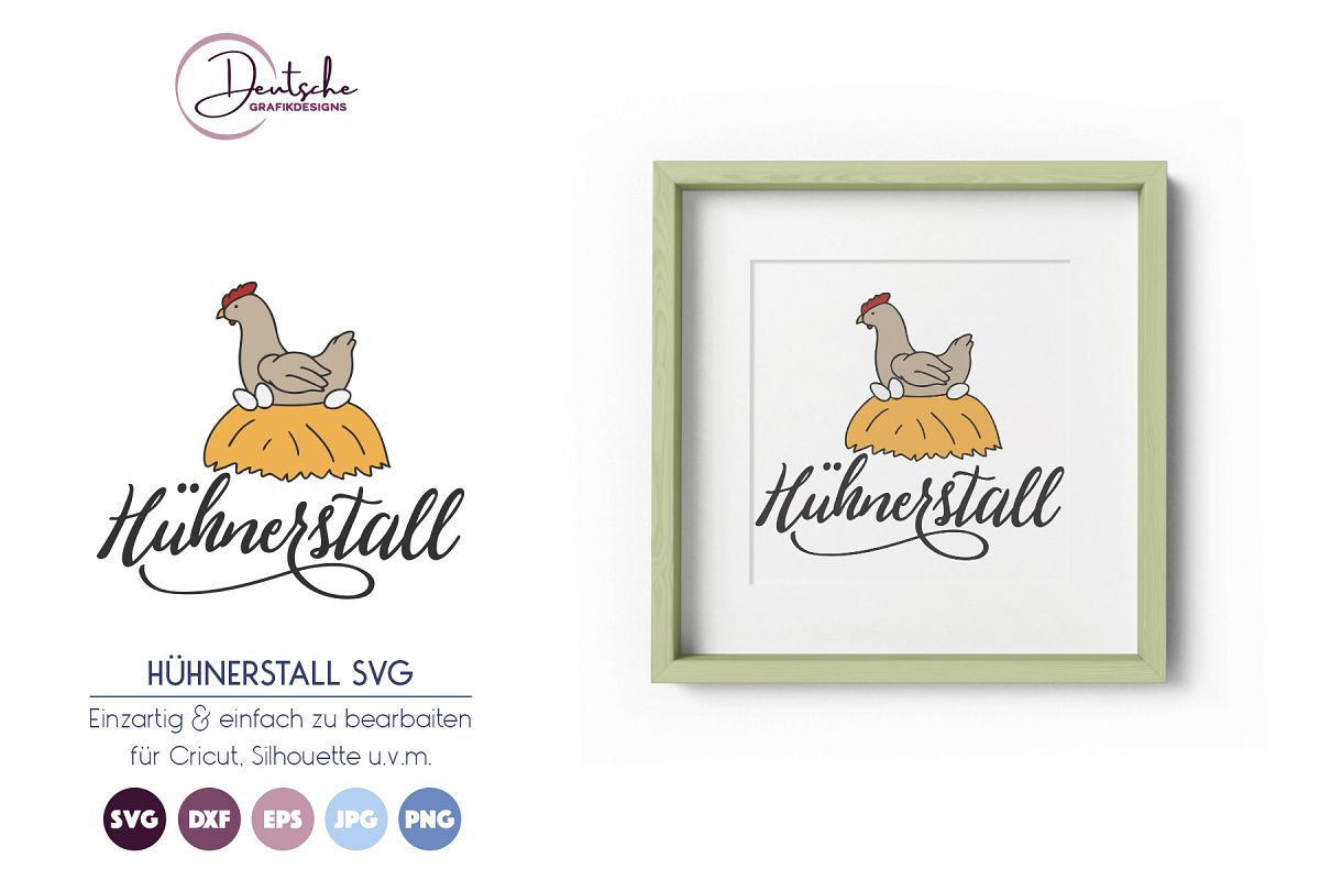 Hühnerstall SVG example image 1