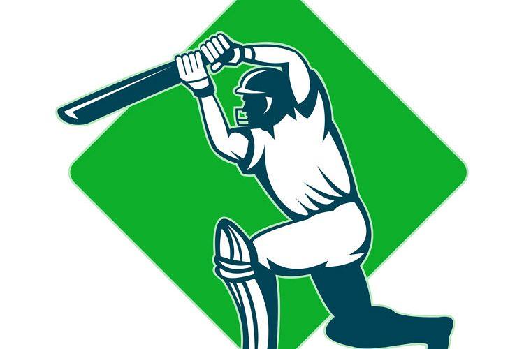 cricket sports player batsman batting example image 1
