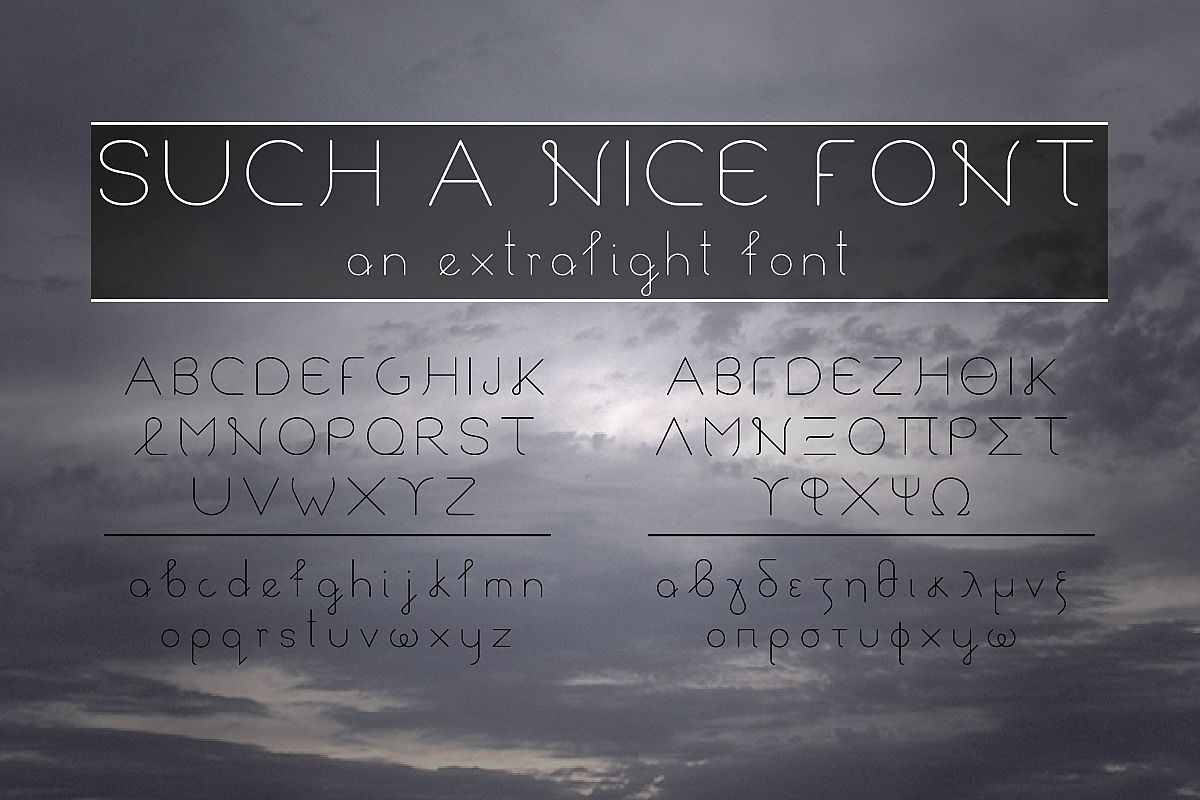 Such a Nice Font example image 1
