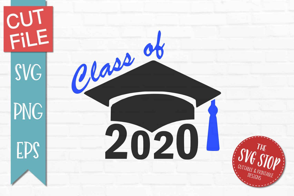 Graduation Hat 2020.Class Of 2020 Grad Cap Svg Png Eps