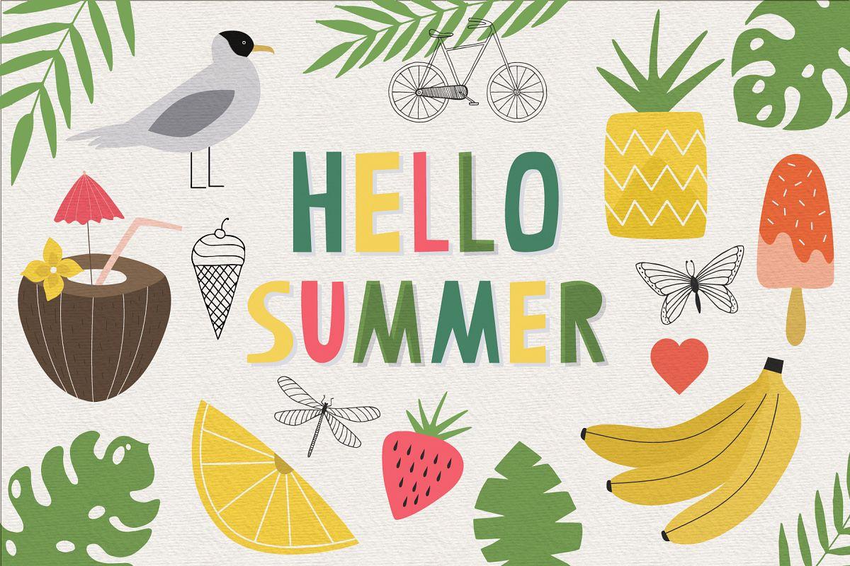 Hello Summer example image 1