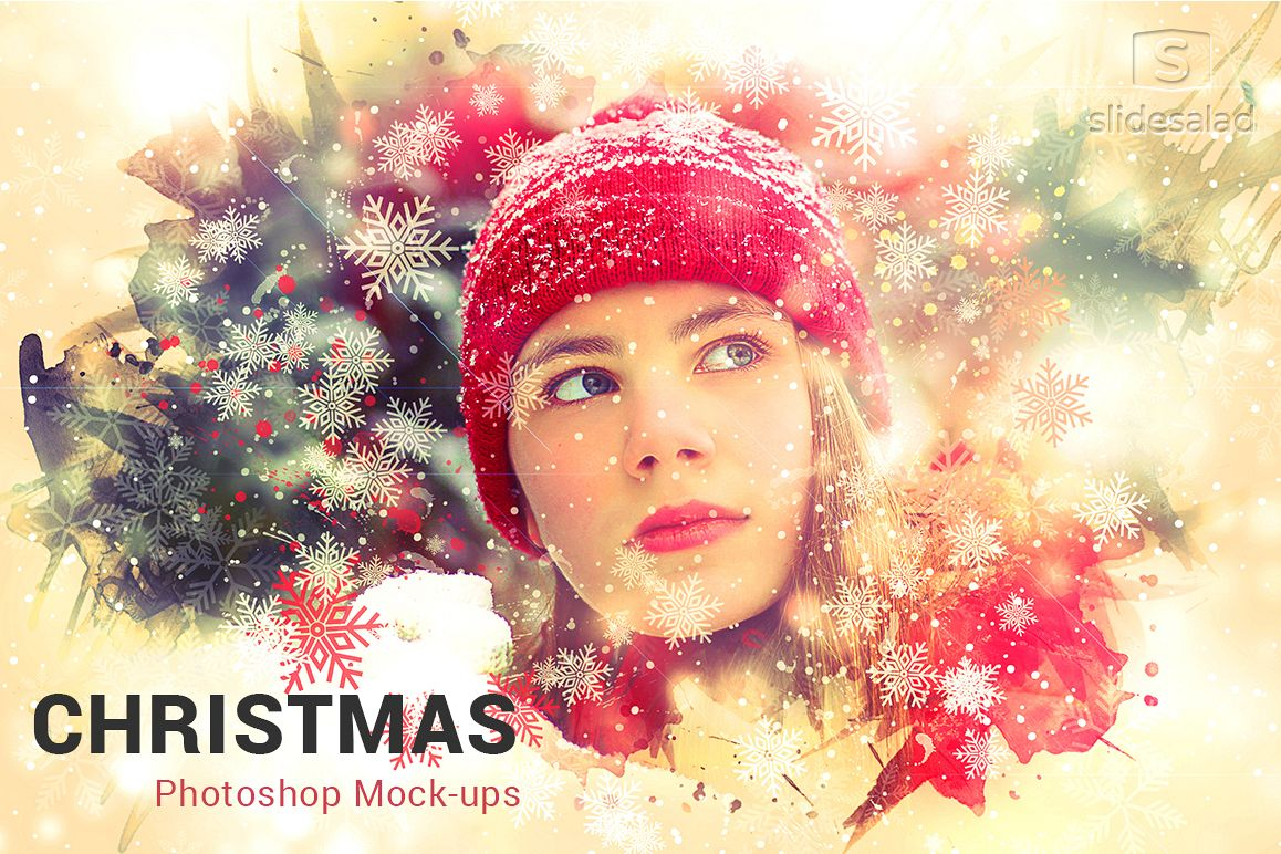 Christmas Photoshop Mock-ups example image 1