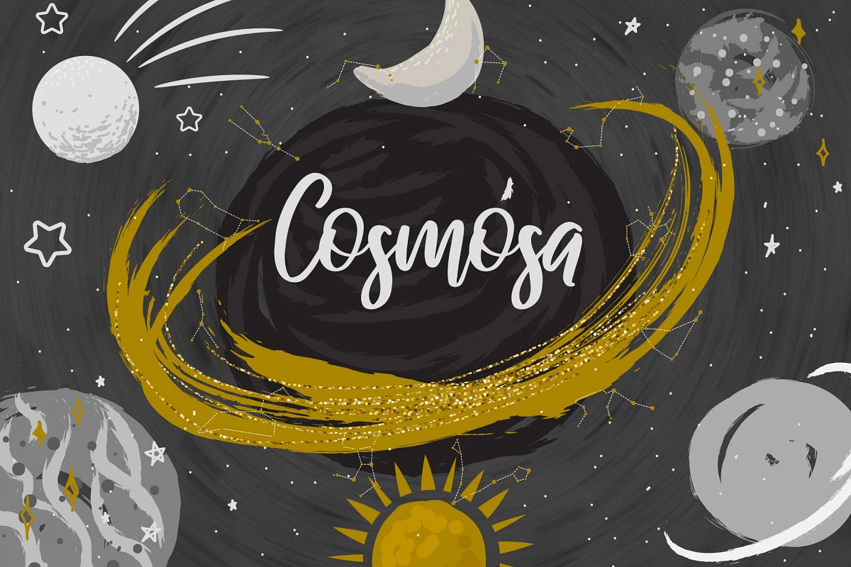 Cosmosa - Patterns & Graphics example image 1