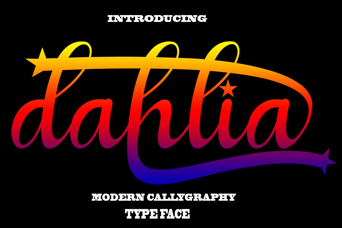 Dahlia example image 1