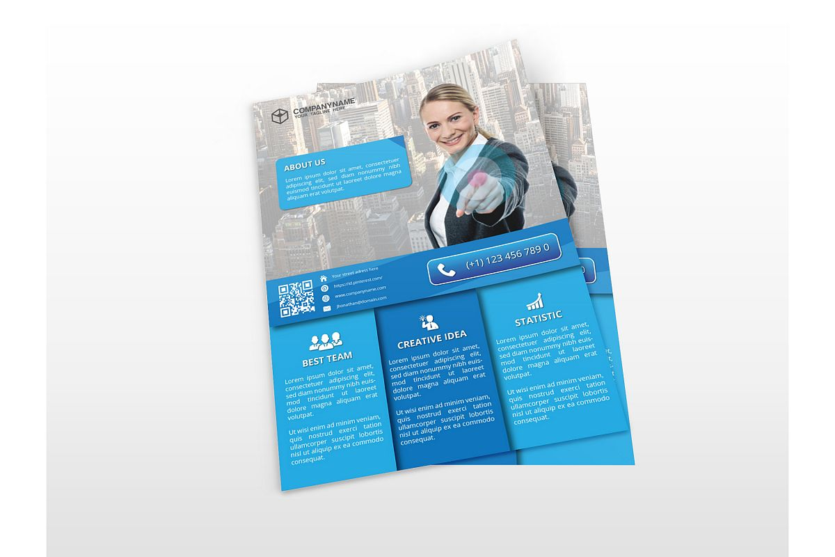 Modern Business Flyers example image 1