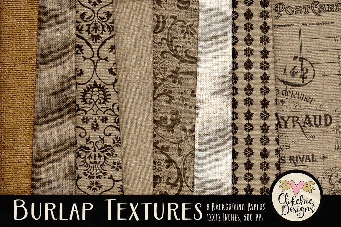 Burlap Background Textures Example Image