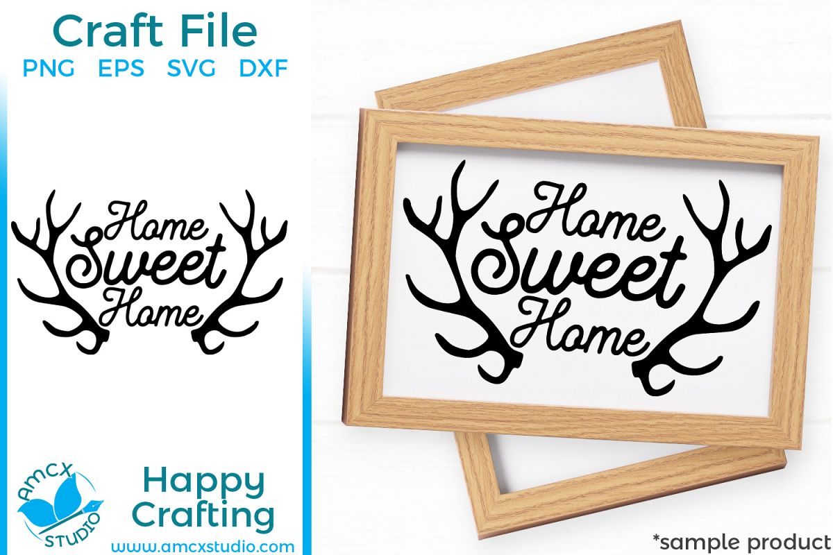 Home Sweet Home, Hunting SVG example image 1