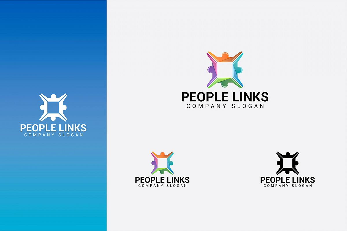PEOPLE LINKS logo example image 1