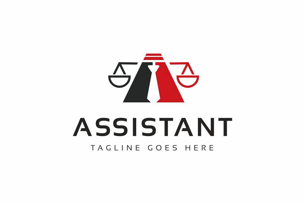 Assistant Law Logo example image 1
